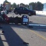 Una conductora ebria amputa dos piernas a dos motoristas en Vilademuls