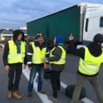 El movimiento chalecos amarillos llega a Italia