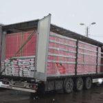 Detenidos tres camioneros polacos con un Millón de cajetillas de cigarrillos de contrabando en dos camiones