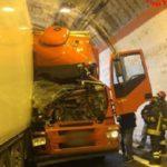 La colisión de tres camiones sin distancia de seguridad en túnel, se salda con 7 heridos – Vídeo