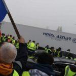 Autopistas francesas reclaman el pago de peaje a los camiones que se fueron sin pagar obligados por los chalecos amarillos