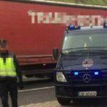 Un camionero borracho casi atropella a mi marido en la Jonquera