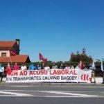 Inspección sanciona a Transportes Calviño (A Coruña) por vulnerar los derechos sindicales de sus trabajadores