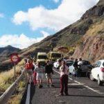 Muere el adolescente de 14 años  que iba con su padre en moto en Gran Canaria