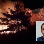"""El héroe que rescató al conductor de un camión incendiado: """"Le dije que saltara, se deslizó entre las llamas y tiré de él"""""""