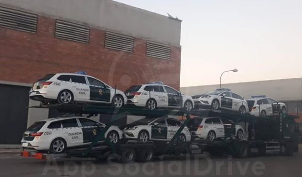 La Guardia Civil patrullará en Seat León ST. No para de sumar nuevos vehículos