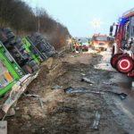Una fatal colisión, se lleva la vida de tres jóvenes transportistas de 23, 25 y 34 años, y deja dos heridos de gravedad en Alemania