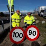 """Navarro (DGT) dice que se ha recibido con """"normalidad"""" la modificación del límite de velocidad a 90 km/h"""