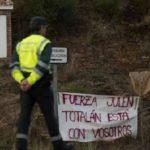 """Carta de un guardia civil desde la zona de búsqueda de Julen """"Sentimos el aliento de España entera"""""""
