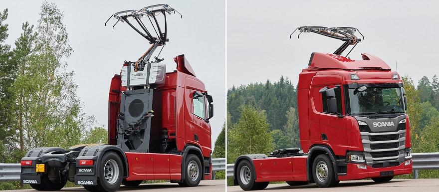 Scania proporciona 15 vehículos de prueba para las carreteras eléctricas alemanas