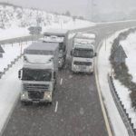 El Gobierno advierte de la nieve en las carreteras desde hoy hasta el domingo