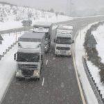 34 provincias tendrán hoy riesgo por lluvia, viento, nieve, frío o fuerte oleaje