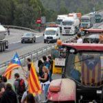 El ambiente se caldea en Cataluña. Estas son las carreteras cortadas tras la sentencia del Procés