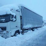 La nieve y el viento arrecia hasta en 13 comunidades en plena borrasca Helena