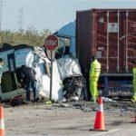La Guardia Civil investiga al conductor del camión por homicidio imprudente al invadir el carril contrario