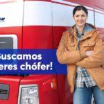 Andamur están preparando algo muy especial. Están buscando mujeres conductoras de camión