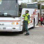 La DGT denuncia a 35 autobuses escolares de Granada por incumplir la normativa