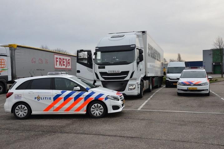 Un camionero español y su copiloto, denuncian un ataque en los Países Bajos
