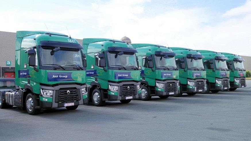 La justicia quiere confiscar entre 350 y 400 camiones de Jost Group