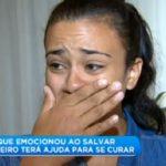 La mujer que rescató a un camionero logra tratamiento contra el tumor cerebral