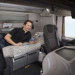 La prohibición de descansar en la cabina solo se multa al instante y si no, pueden solicitar el reembolso