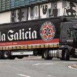 Detenido el hombre que robó un camión de Estrella Galicia