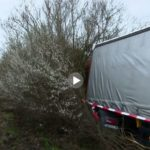Un camionero, lleva cuatro días tirado, esperando ser rescatado de un accidente en Alemania