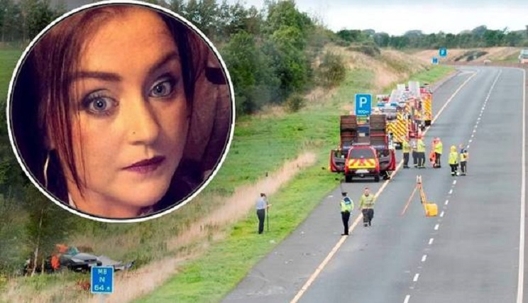 «No dejes que el cansancio al volante de un camión, mate a otros como a mi hija dejando a un recién nacido huérfano»