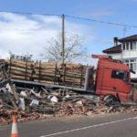 Fallece un camionero de solo 27 años arrollado por su camión en Piloña