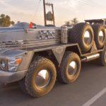 Atento al Dhabiyan, el camión gigante de 10 ruedas de un multimillonario