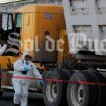 Un hombre mata a tiros al hijo del conductor de un camión durante un altercado de tráfico