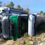 ¡¡Jubilación a los 60 ya!! : Un camionero de 63 años, herido grave al salirse de la vía en Ocaña