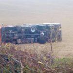 Herido muy grave, un camionero de 71 años que tenía que estar jubilado, al sufrir un accidente en la 57 Italia