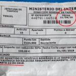 La Guardia Civil de Teruel, denuncia a un camión por la ITV que no le había caducado