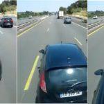 El angustioso vídeo de un camionero acosado por una familia