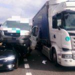 Un Mega accidente en la carretera, deja 17 heridos y también varios camiones implicados en la A22 Italia