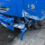 Camionero de 56 años, fallece aplastado por su propio camión, al quedarse sin frenos
