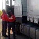 Denunciado un camionero en Lodosa por positivo en tres drogas