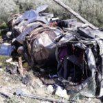 Fallece un camionero de 42 años, al volcar el camión que transportaba aceite en la A-320, Iznalloz