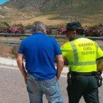 Un camionero y su jefe acaban a golpes en medio de la A-7 en Murcia
