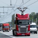 Se abrió la primera autopista para camiones electrificada en Alemania