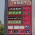 Sube el precio de la gasolina un 15% y el diésel un 11,3 en lo que va de año