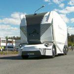 Un camión sin conductor busca ser el futuro del reparto