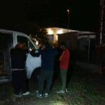 Tres ladrones huyen APALEADOS por un «CAMIONERO», y abandonan la furgoneta en Alcalá de Herares