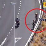 La Guardia Civil denuncia a dos ciclistas en contradirección por la autovía