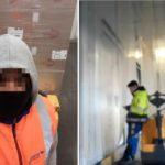 Le obligan a descargar 33 palés en cámaras de congelados sin abrigo, mientras el carretillero se recrea con el móvil