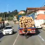 """Saquen conclusiones: misma carretera que la del famoso vídeo del """"Martillazo"""""""