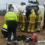 Muere un camionero en un accidente en la AP-7 en Mont-roig del Camp