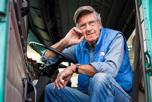Camionista anziano