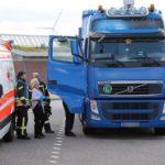 Hallan muerto a un conductor de camiones en un aparcamiento de la A20